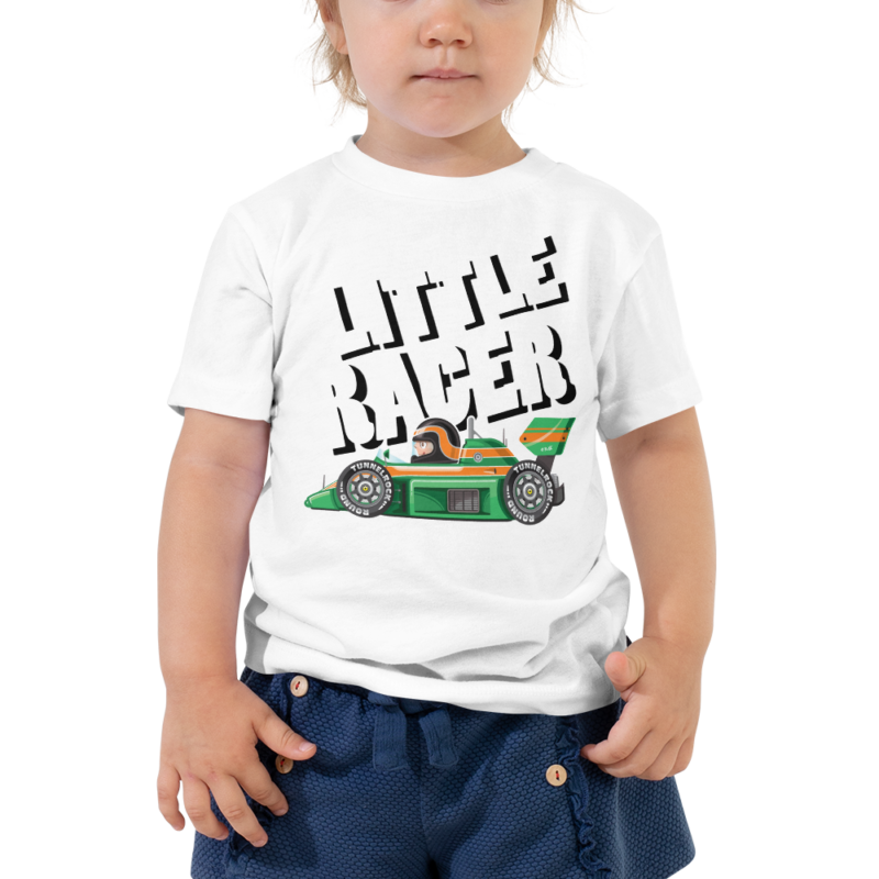 Little Racer Racecar Toddler T-Shirt