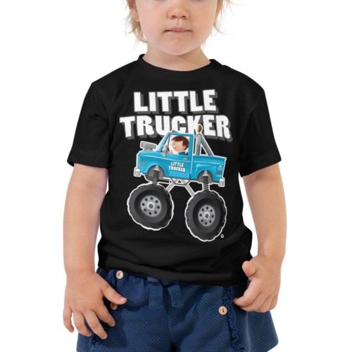 Little Trucker Monster Truck Toddler T-Shirt