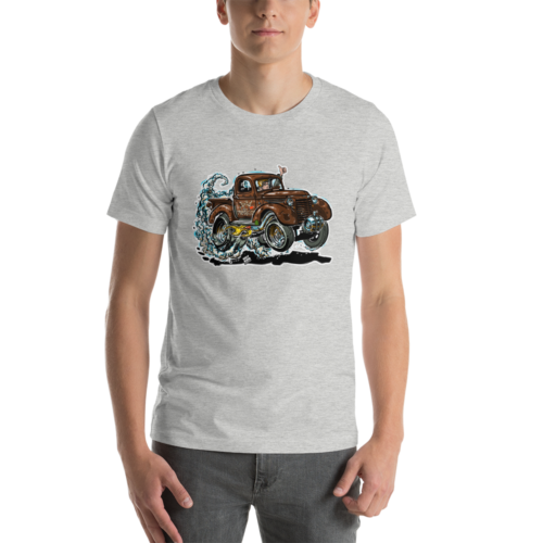 1940's Shorty Chevy Pickup Truck Drag Racer T-Shirt